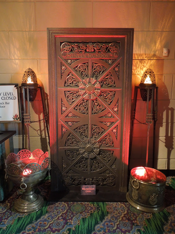 John Carter Mausoleum door