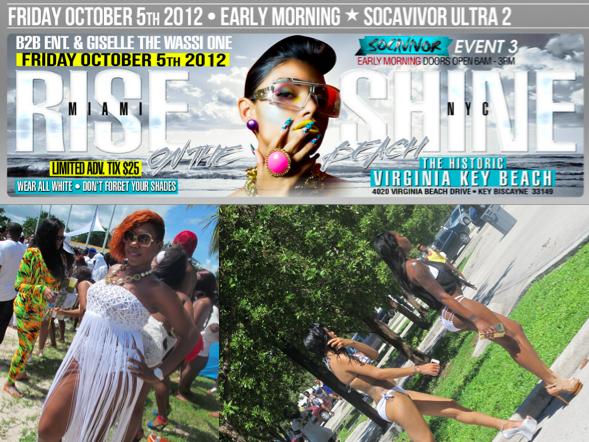 Rise Miami Shine NYC Fete Pictures