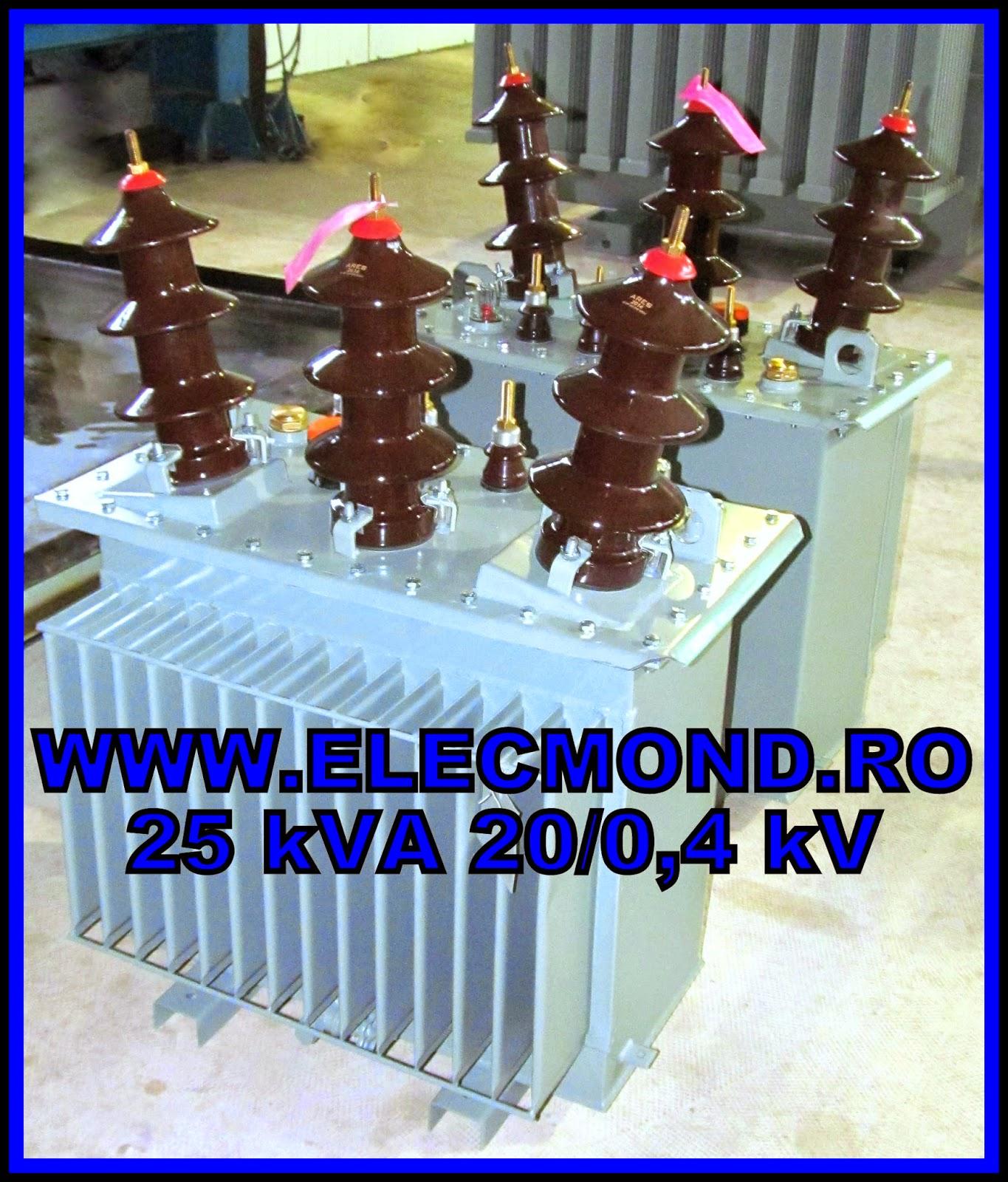 TRANSFORMATOARE SPECIALE , Transformator 40 kVA 0,4/0235kV  , transformator  50kVA 380/460V , Elecmond  , transformatoare 25 kVA 20/0,4kV