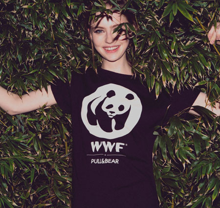 camisetas la hora del planeta Pull&Bear