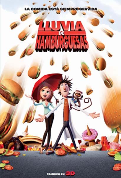 Lluvia de hamburguesas 2 (2013) Online Latino