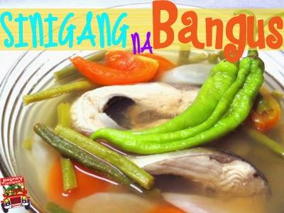 A bowl of hot Sinigang na Bangus