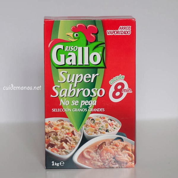 arroz vaporizado riso gallo