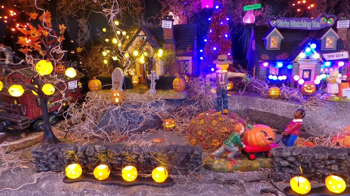Halloween Town Wordless Wednesday