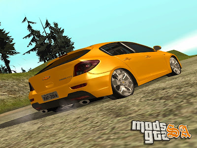 Chevrolet Cruze Hatch para GTA San Andreas