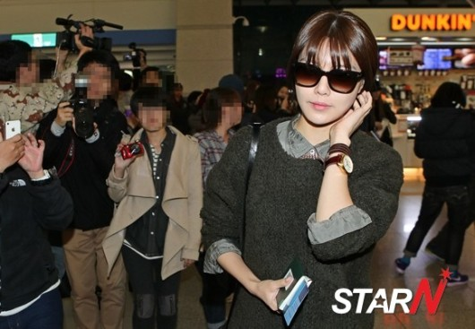 SNSD Airport Fashion - Sooyoung