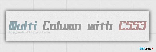 multi kolom text dengan css