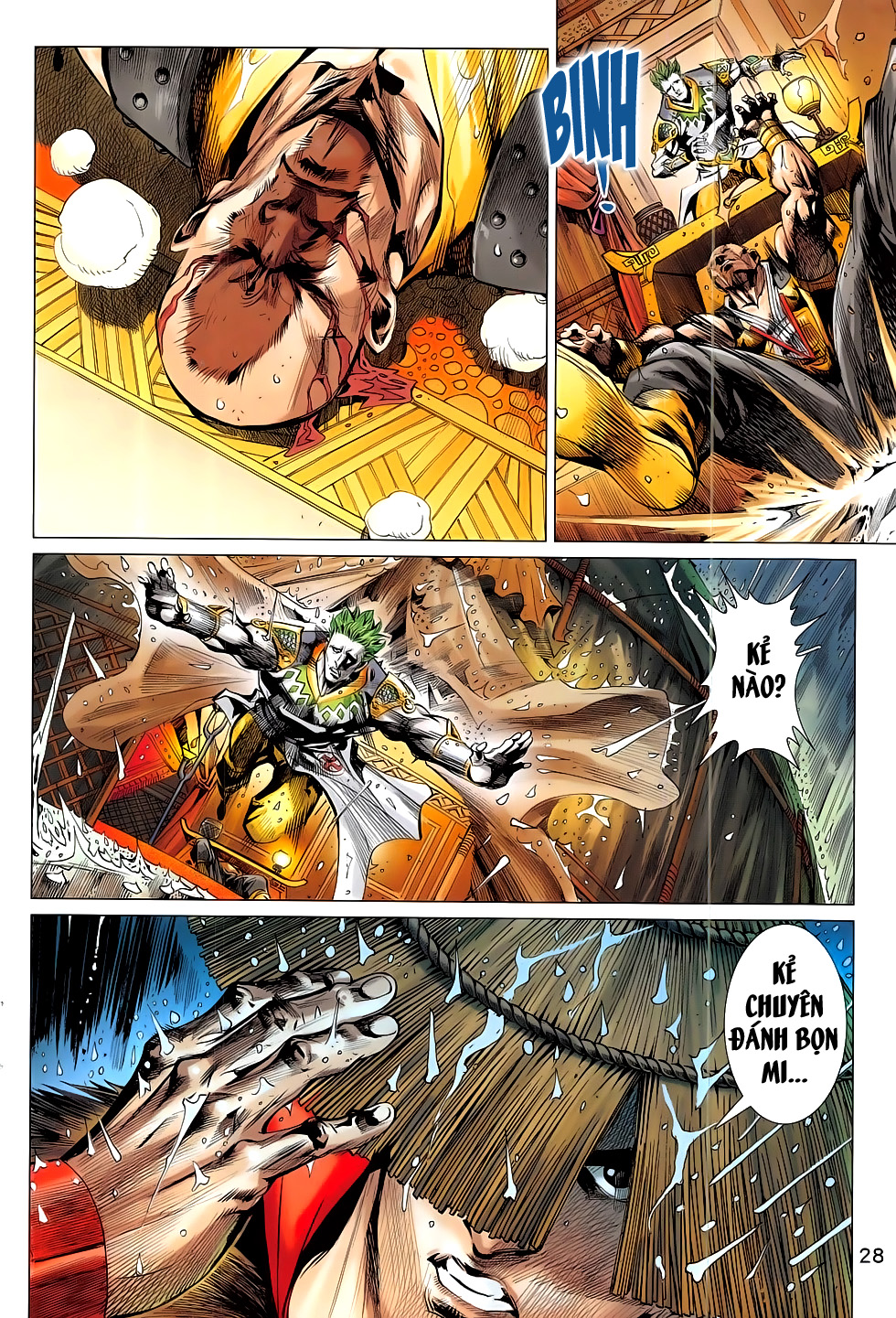 Thần Chưởng trang 31