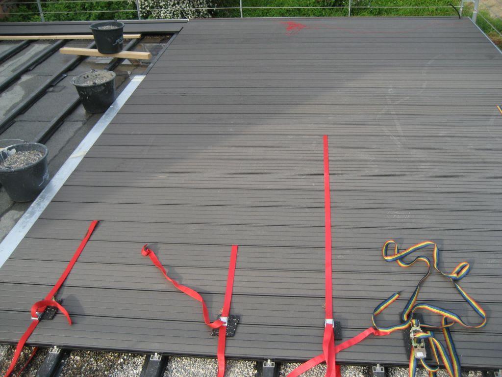 wir bauen orange der garage aufs dach gestiegen. Black Bedroom Furniture Sets. Home Design Ideas