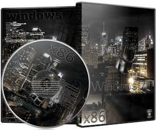 Download Windows 7 Ultimate x86 Dark City – ISO