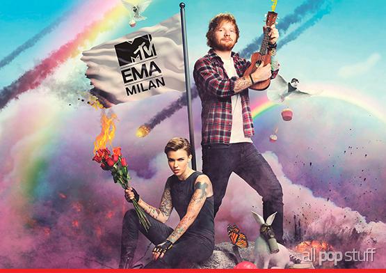 Ed Sheeran Ser 225 Um Dos Apresentadores Do Ema 2015 All