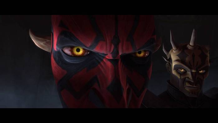 Darth maul in star wars the clone wars