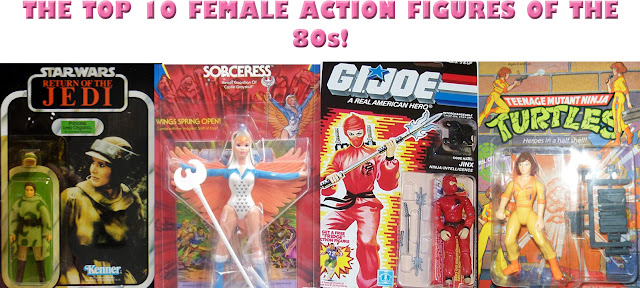 Popular 80s Toys : Toys and bacon the top female action figures of s