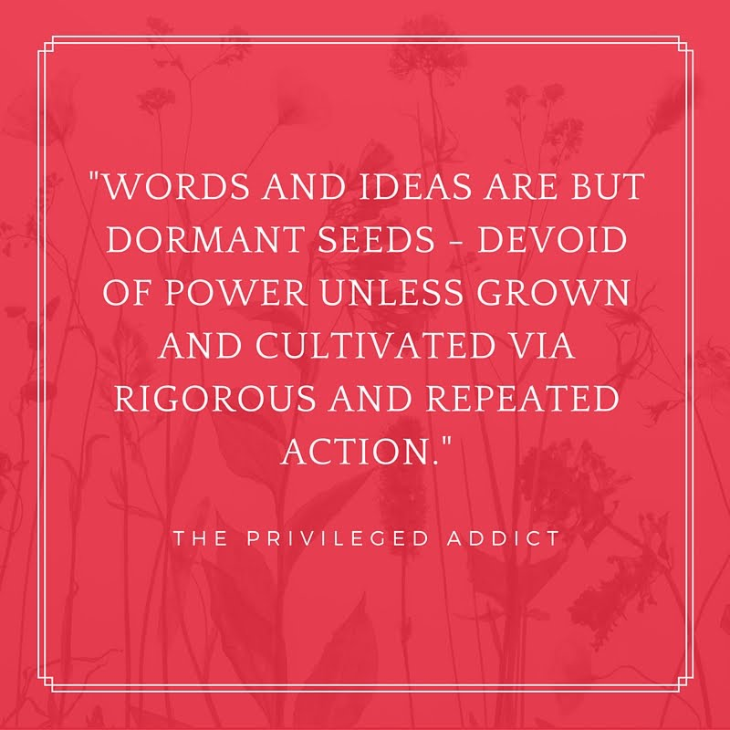Words are but Dormant Seeds