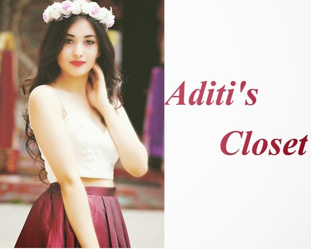 Aditi's closet