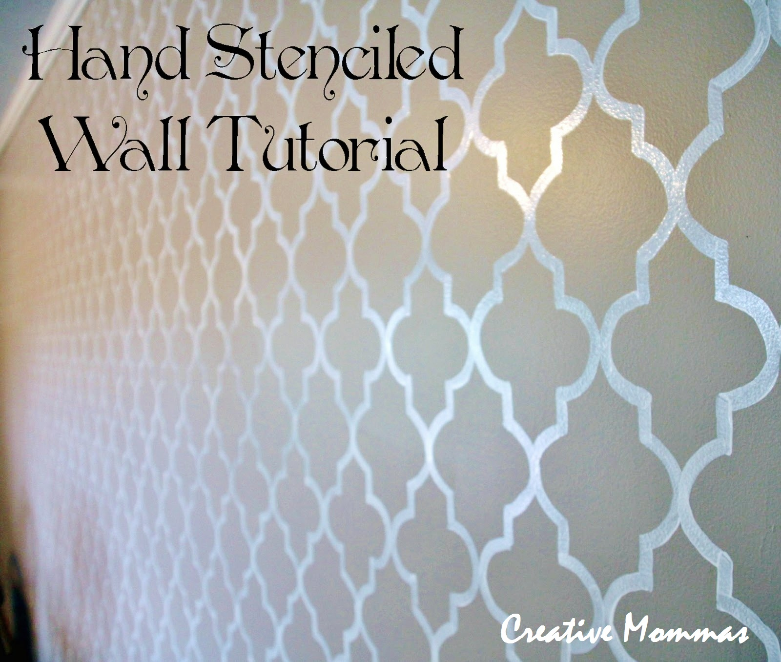 creative mommas wall stencil template