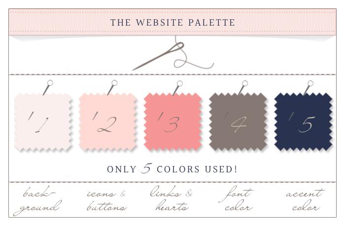 website colors, web design