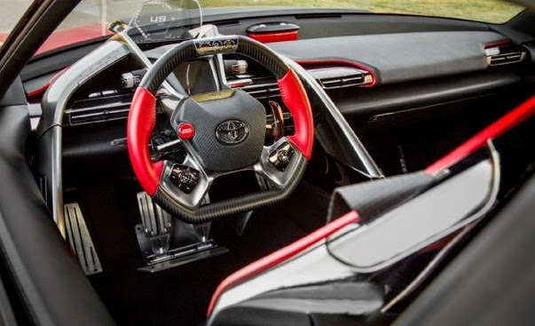 2016 Toyota FT-1 interior