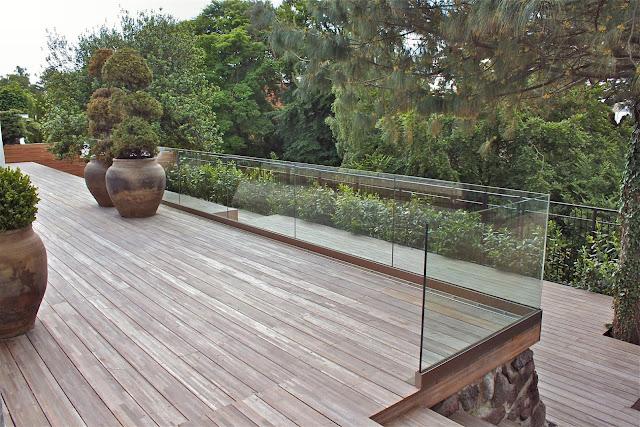 GLAS Terrasser, Bund Sikret, GLAS Rækværk, GLAS Altaner, Sikkerheds Glas