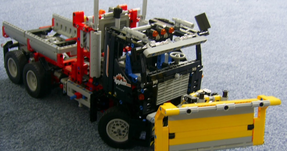 Lego Maker Lego 9397 Snow Plough And Tipper Truck
