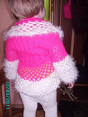 Детская вязаная крючком одежда на заказ