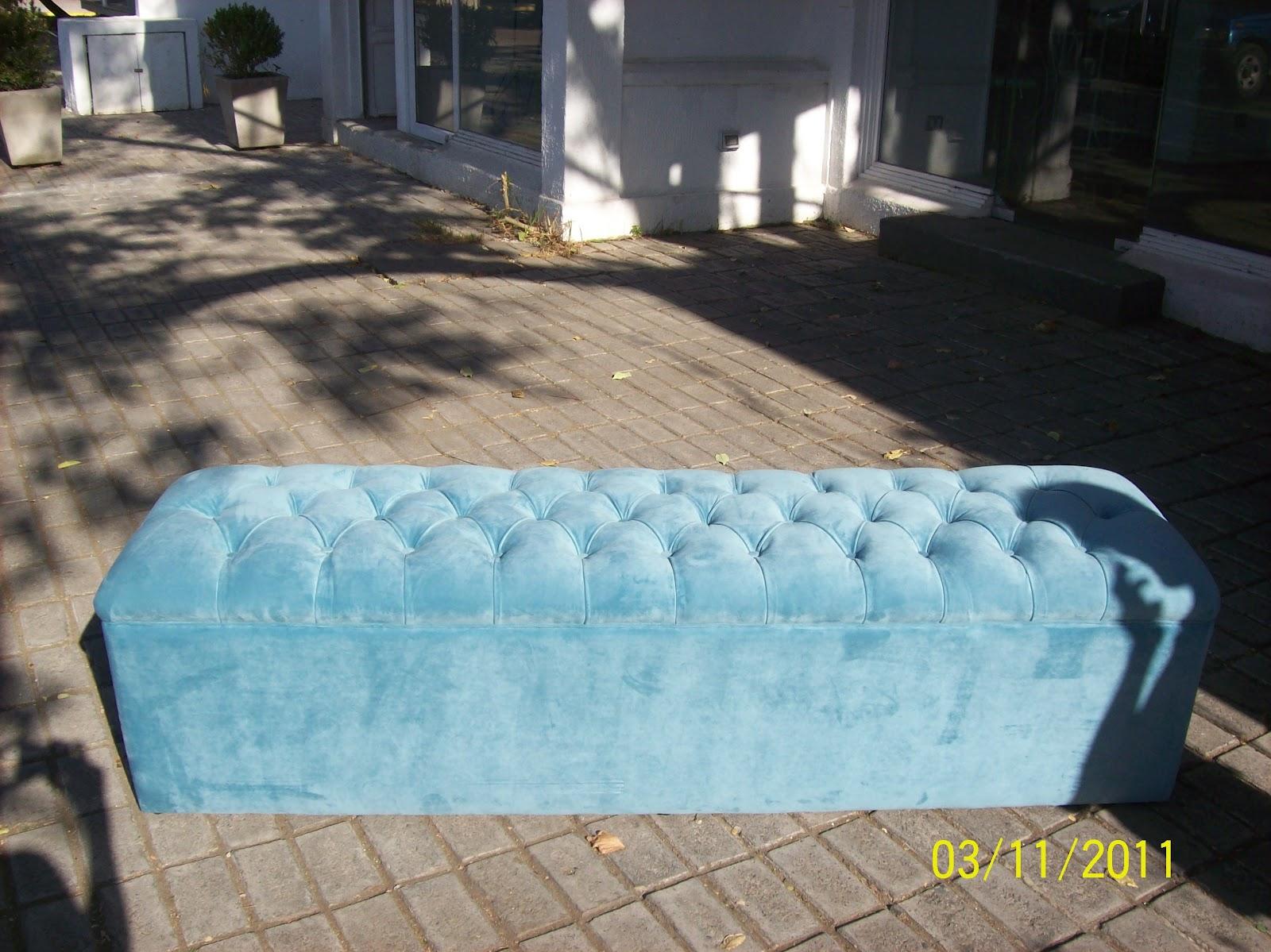 Hacemos tu sofa realidad banqueta capitone for Sillon cama chile