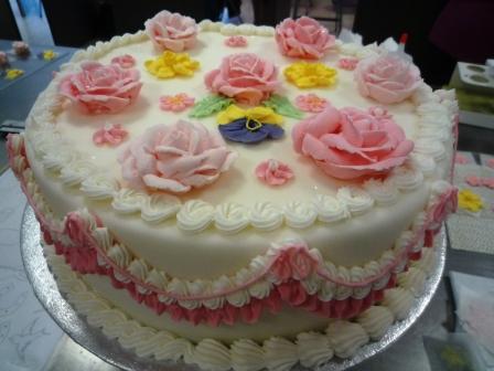 Torte mit Royal Icing