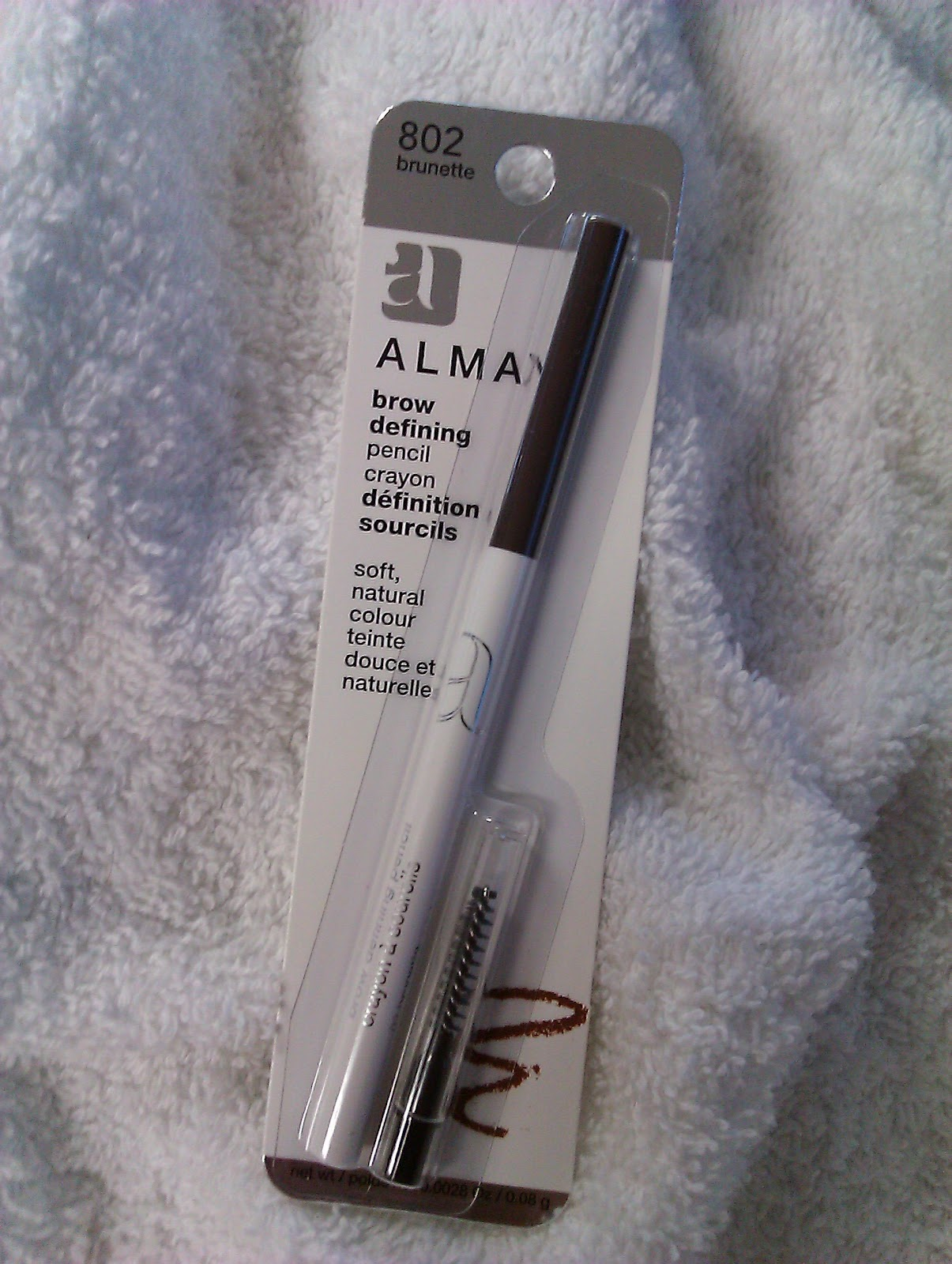 Product Review Almay Brow Defining Pencil Comparison To Mac