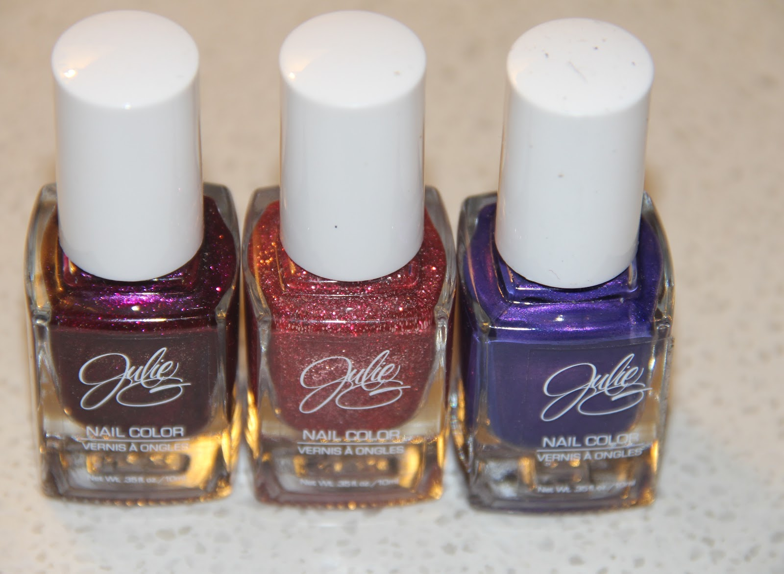 Beauty Logic: Julie G Nail Polish Review