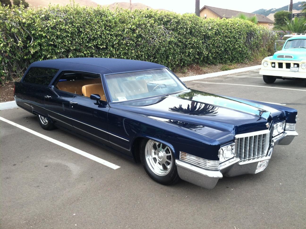 Classic Cadillac Wagon