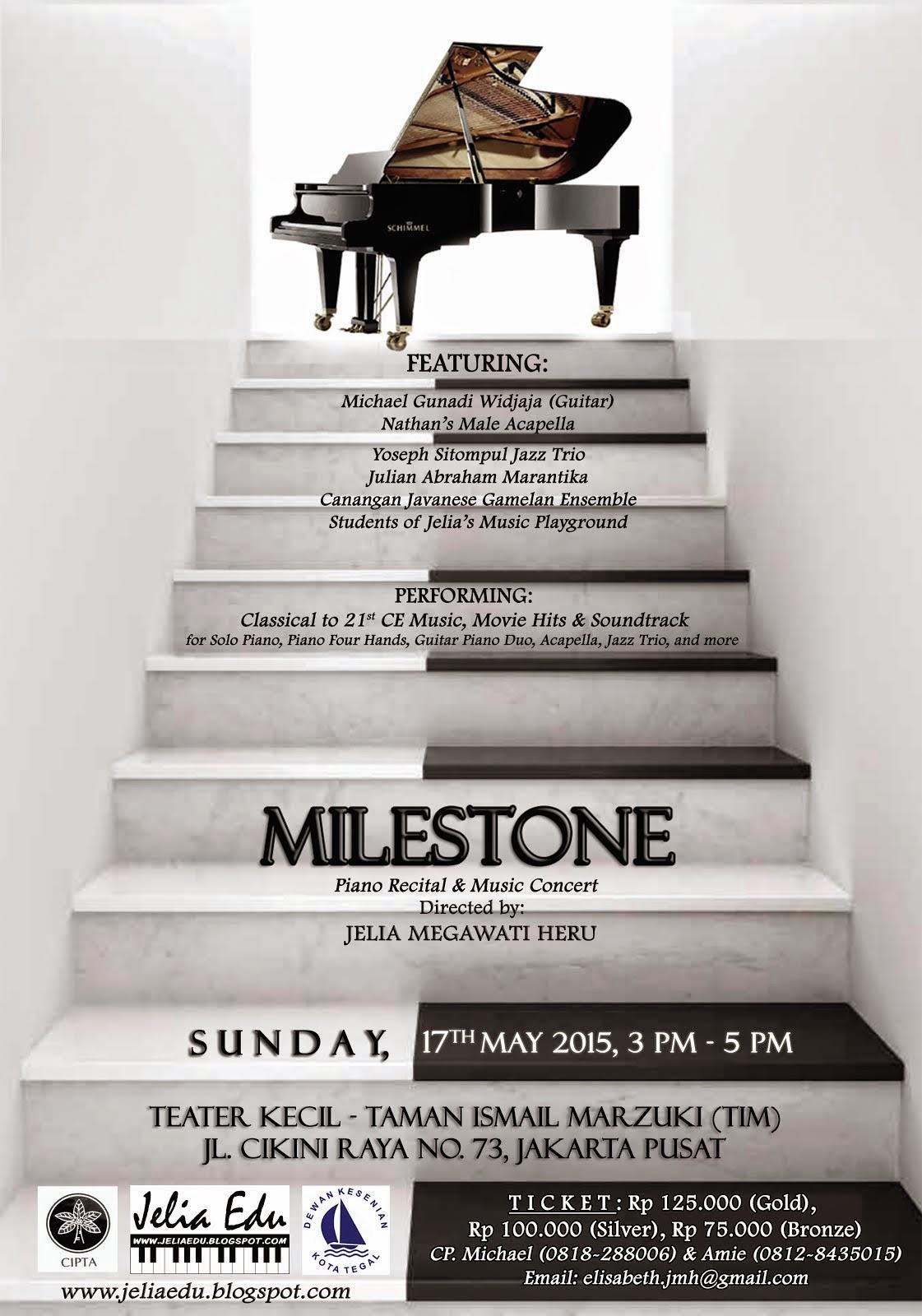 MILESTONE Piano Recital