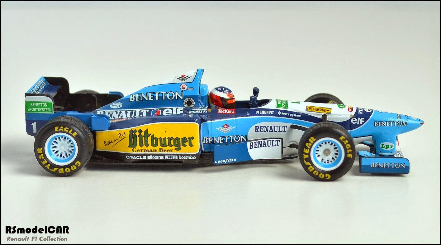 Benetton Renault B195 Schumacher by Minichamps  RSmodelCAR
