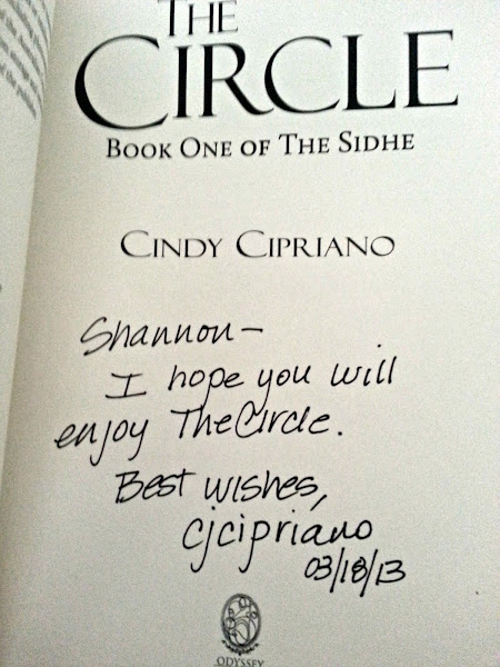 The Circle Book One of the Sidhe By: Cindy Cipriano