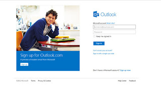Outlook.com, Microsoft's webmail service