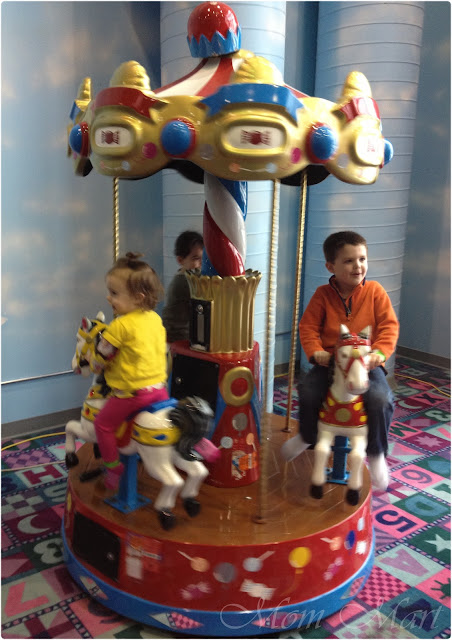 Child Size Merry Go Round