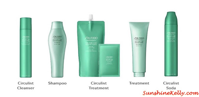 Shiseido Professional, Fuente Forte, Carbonated Head Spa, Scalp Treatment, Circulist Cleanser, Power Beauty Drop, Circulist Soda, Circulist Treatment, 76 style mont kiara, hair spa, hair salon