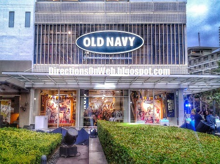 Old Navy Bonifacio Global City Philippines