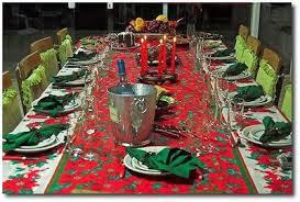 Decorar uma mesa de natal