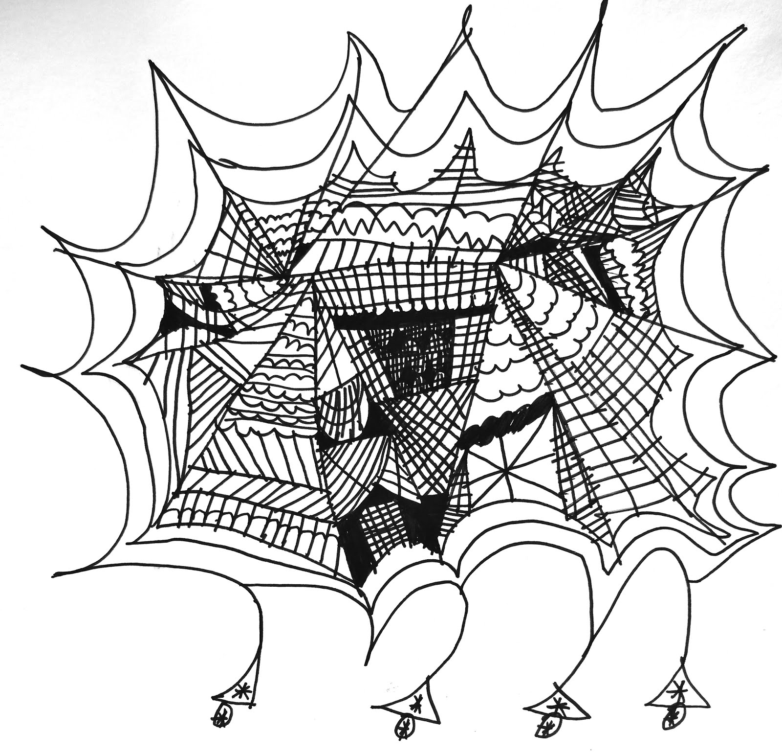 anansi the spider coloring pages - rl arts anansi the spider
