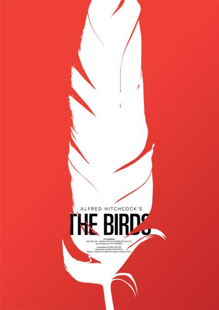 The Birds (1963) is a horror film directed by Alfred Hitchcock and based on ...