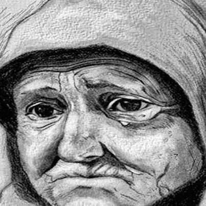 سيده كانت تصارع الموت فاعطت لابنها الوحيد ورقه واوصته ان لا يفتحها أبدا و لكن