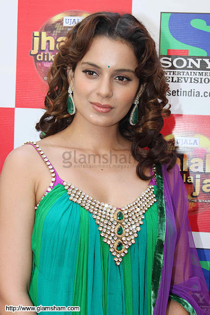 Kangana Ranaut Curly Hairstyle Ideas for Girls