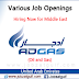 Job Openings at ADGAS (Oil and Gas) - UAE