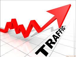 trafik turun drastis