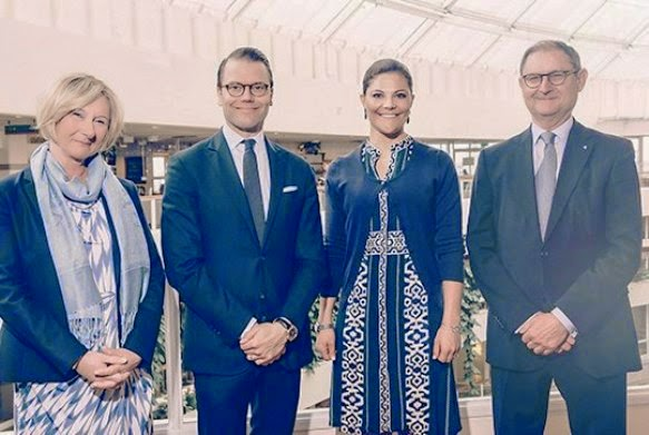 Princess Victoria Visits The Swedish Association Of Local Authorities