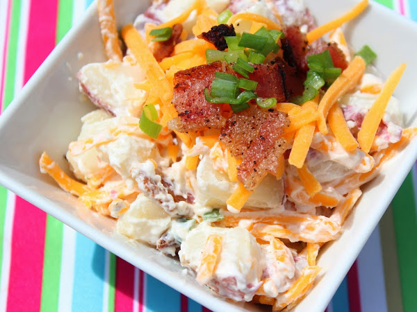 Twiced Baked Potato Salad