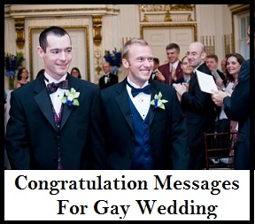 Homosexual marriage images congratulations