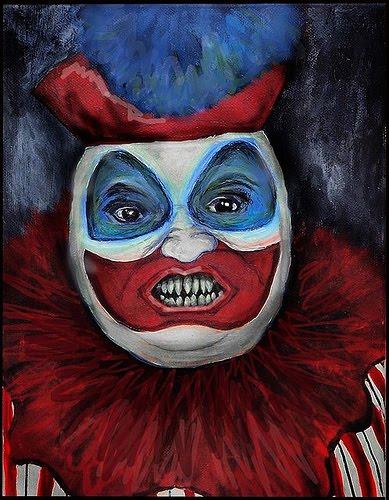 john wayne gacy clown. hair JOHN WAYNE GACY