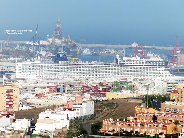 El Crucero Norwegian Epic hace escala en el Puerto de Las Palmas