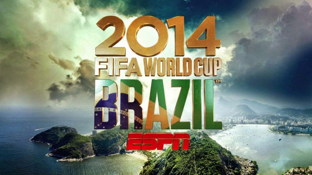 ESPN Schedule for 2014 FIFA World Cup